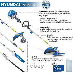 Hyundai HYMT5200X 52cc Petrol Garden 5-in-1 Multi Function Tool