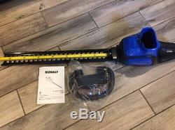 Kobalt 40 Volt Max 24 in Dual Cordless Hedge Trimmer (Tool Only) 40V