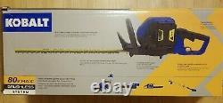 Kobalt 80v Max Brushless Hedge Trimmer Model # KHT 2680A-08 (Tool Only)
