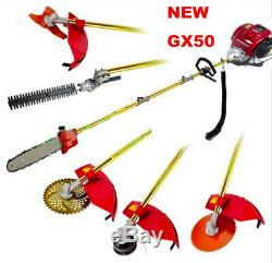 Lawn Mower 6 in 1 Multi Tools GX50 4-stroke brush cutter chain saw hedge trimmer
