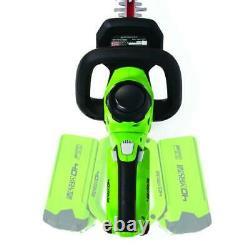 Lightweight 24 40V Cordless Antivibration Landscape Hedge Trimmer Tool Only