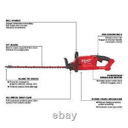 M18 FUEL 24 in 18-Volt Lithium-Ion Brushless Cordless Hedge Trimmer (Tool-Only)
