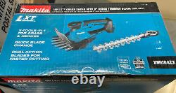 Makita 18V LXT Grass Shear with 8 Hedge Trimmer Blade TOOL-ONLY XMU04ZX NEW