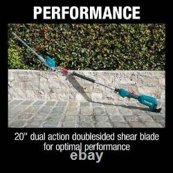Makita 18-Volt LXT Brushless 20 inch Articulating Pole Hedge Trimmer Tool-Only