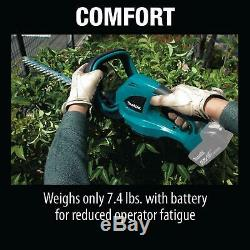 Makita Hedge Trimmer Cordless 18 Volt LXT Lithium-Ion Powerful 22 in Tool Only