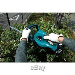 Makita XHU02Z 18-Volt 22-Inch 1,350 Spm Anti-Vibration Hedge Trimmer (Bare-Tool)