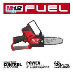 Milwaukee 12V 6 Cordless Hatchet Pruning Saw Brushless Motor Outdoor Power Tool