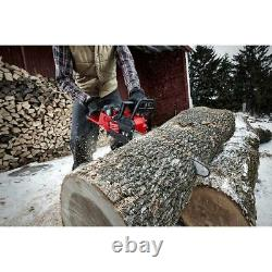 Milwaukee Blower Chainsaw Hedge Trimmer Combo Kit 18-Volt Cordless (3-Tool)