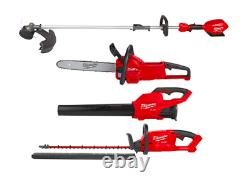 Milwaukee Chain Saw Weed String Trimmer Kit Straight Shaft Hedge Blower M18 Tool