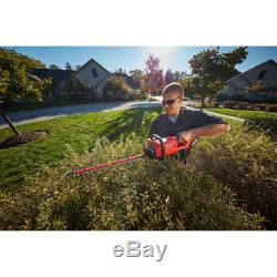 Milwaukee Cordless Hedge Trimmer Brushless 18V LithiumIon Steel Blades Tool Only