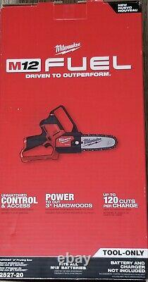 Milwaukee M12 FUEL Brushless Cordless 6 in. HATCHET Pruning Saw (Tool-Only)