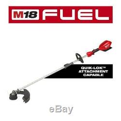 Milwaukee M18 FUEL String Trimmer QUIK-LOK Hedge Trimmer Combo Brushless 2-Tool
