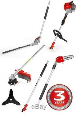 Mitox MT28a Multi Tool, Strimmer, Pole Saw, Hedge Trimmer& Extension