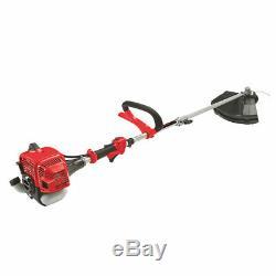 Mountfield 25.4cc Petrol 3-in-1 Multi-tool Grass Brush Hedge Trimmer