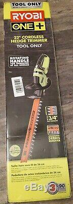 NEWRyobi P2606 ONE+ 22 in. Hedge Trimmer Cordless Double-Sided (Tool Only)