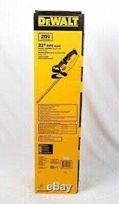NEW Dewalt DCHT820B 20v Max Li-Ion CORDLESS 22 In. Hedge Trimmer (Tool Only)