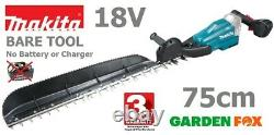New Bare Tool MAKITA LXT 75cm 18V Cordless Hedgecutter DUH754SZ 0088381893848