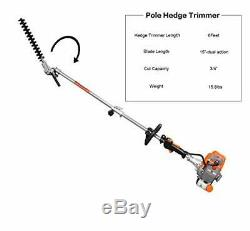 PROYAMA 26cc 5 in 1 Trimming Tools, Multi Functional Sets Gas Hedge Trimmer