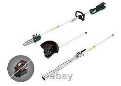 Parkside Cordless Battery Multi-Tool Lawn Trimmer Strimmer Pruner Hedge Trimmer