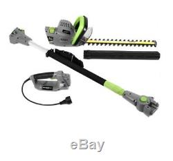 Pole Hedge Trimmer Electric Multi Tool Pole Extension Double Sided Straight Home
