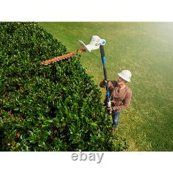 Pole Hedge Trimmer Lawn Garden Rear Comfort Grip Handle Home Tool 20V