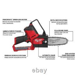 Pruning Saw Lithium-Ion Brushless Cordless HATCHET 6in M12 FUEL 12-V (Tool-Only)