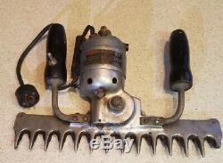 RARE! Antique SIPCO Electric Hedge Trimmer 1202, Schartow Iron Products, WORKS