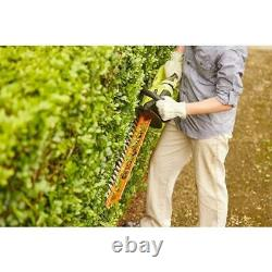 RYOBI 18V Hedge Trimmer 22in Dual Side Blade Handheld Cordless Garden Power Tool