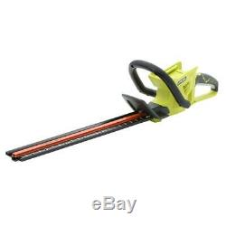 RYOBI 24 inch 40-Volt Lithium-Ion Cordless Hedge Trimmer Dual Action Tool Only