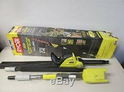 RYOBI 40-Volt Lithium-Ion Cordless Pole Hedge Trimmer 18 in. (Tool-Only)