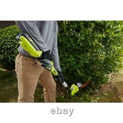 RYOBI 8 in. 40-Volt Lithium-Ion Cordless Pole Hedge Trimmer (Tool-Only)