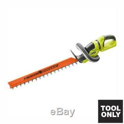 RYOBI Cordless Hedge Trimmer 24 in. 40-Volt Lithium-Ion (Tool Only)