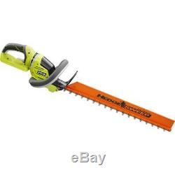 RYOBI Hedge Trimmer 24 in. 40V Lithium-Ion Cordless Articulating Head Tool Only