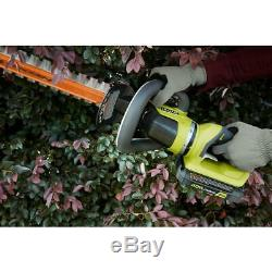 RYOBI Hedge Trimmer 24 in. 40V Lithium-Ion Cordless Rotating Handle (Tool Only)