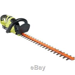 RYOBI Hedge Trimmer Tool Cordless 22 Inch 18 Volt Lithium Ion Battery Charger