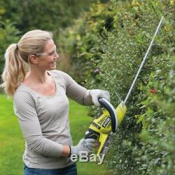 Ryobi 50cm 22mm 18V Cordless Hedge Trimmer + Battery & Charger DIY Garden Tools