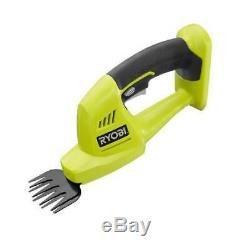 Ryobi Cordless Hedge Trimmer Grass Shear Shrubber 5/6 18V Lithium Ion Bare Tool