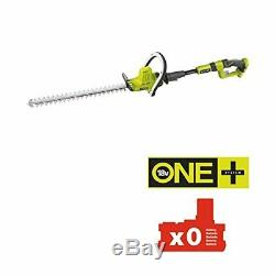Ryobi OHT1850X ONE+ Cordless Extended Reach Hedge Trimmer, 18 V (Body only)