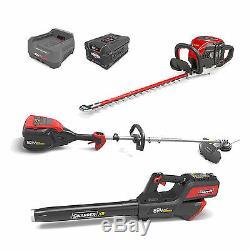 Snapper XD 82 Volt Hedge Trimmer, String Trimmer, Leaf Blower Total Yard Bundle