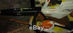 Stihl HSA 45 CORDLESS HEDGE TRIMMER + BGA 56 BLOWER garden tool battery powered