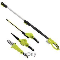 Sun Joe GTS4001C Garden Tool System Hedge Trimmer Pole Saw Leaf Blower