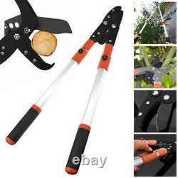 Telescopic Anvil Lopper Garden Pruner Tree Hedge Pruning Hand Tool Gardening