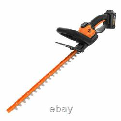 WORX Outdoor Tool Package with Cordless Trimmer/Edger and Cordless Hedge Trimmer