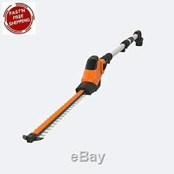 WORX WG252.9 20V Power Share Pole Hedge Trimmer 20, Bare Tool Only, Black