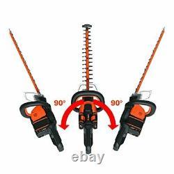 WORX WG284E. 9 40V (36V) Dual Battery (2x 20V Battery) Cordless 60cm Hedge
