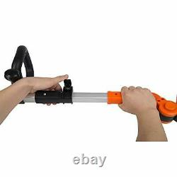 Yard Force 20V Cordless Pole Hedge Trimmer extendable, with Adjustable Head